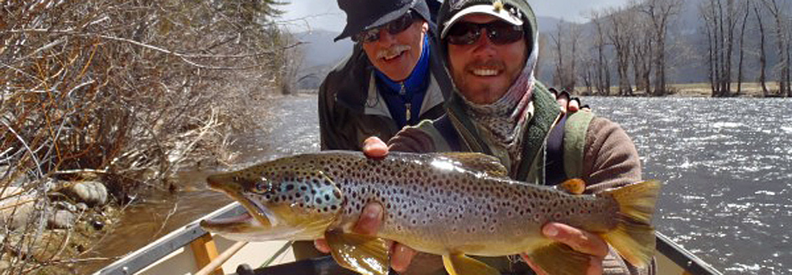 Spring-fishing-for-brown-trout-montana